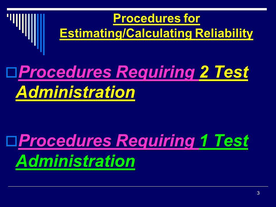 A.Internal Consistency Reliability (ICR) 2.