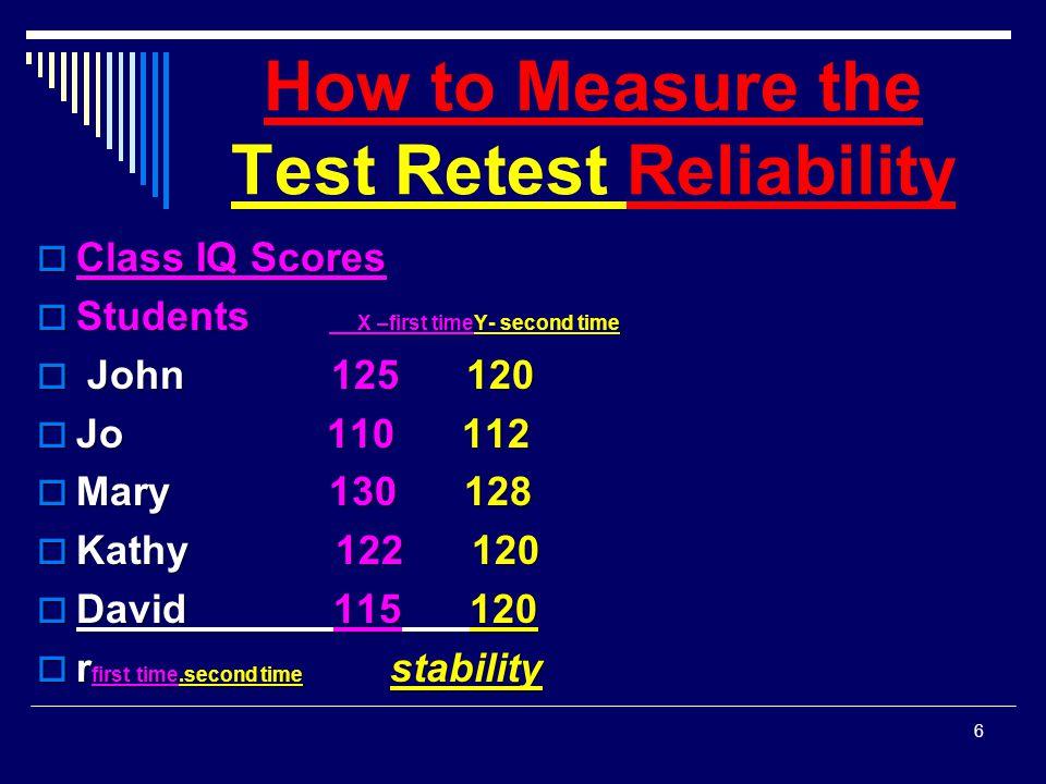 Procedures Requiring 2 Test Administration  2.