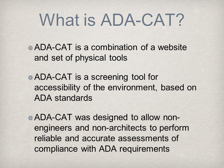 What is ADA-CAT.