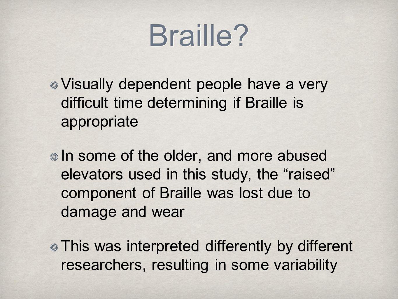 Braille.