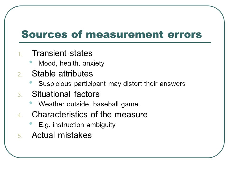 Assessing validity 1.Face validity – if a measure appears to be valid.