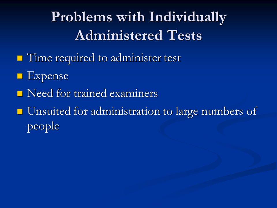 Group Intelligence Tests Robert M.Yerkes Robert M.
