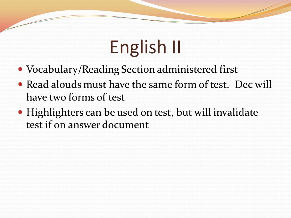 Accommodations Manual Accommodations 24 and 25: relate to administering the test over several session and/or days.