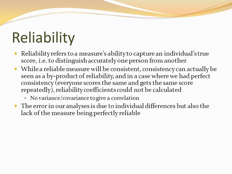 Validity Criteria in Experimentation Statistical conclusion validity Is there a causal relationship between X and Y.