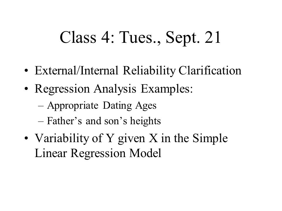 Class 4: Tues., Sept.