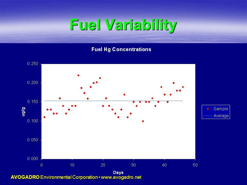 AVOGADRO Environmental Corporation www.avogadro.net Fuel Variability
