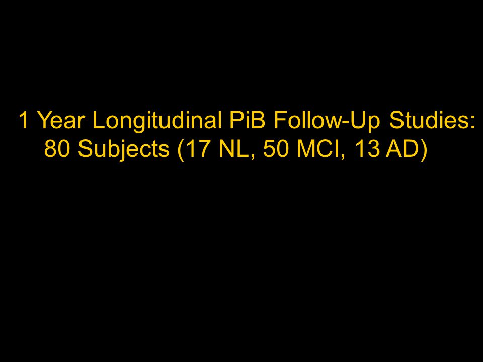 2.11 2.26 2.54 PiB NeoC4 SUVR: PiB(+) 3.0 1.0 ADNI PiB Converters from MCI to AD PiB(-) 1.21 1.22 1.43 PiB NeoC4 SUVR: abnormal FDG scan with an FTD-like pattern severely abnormal FDG scan with an FTD-like pattern; highly confident of FTD not clearly abnormal, although borderline abnormalities are limited to frontal regions