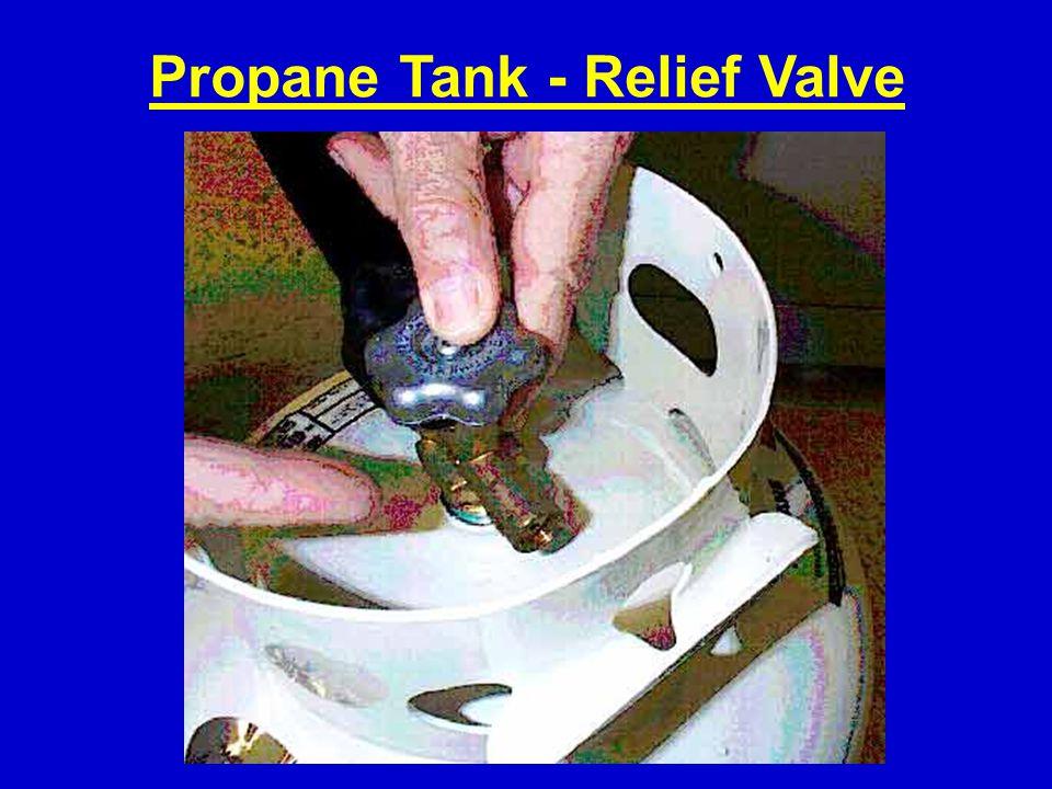 Propane Tank - Relief Valve