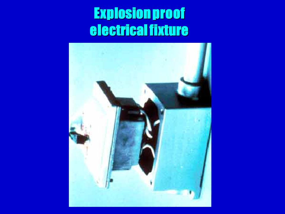 Explosion proof electrical fixture