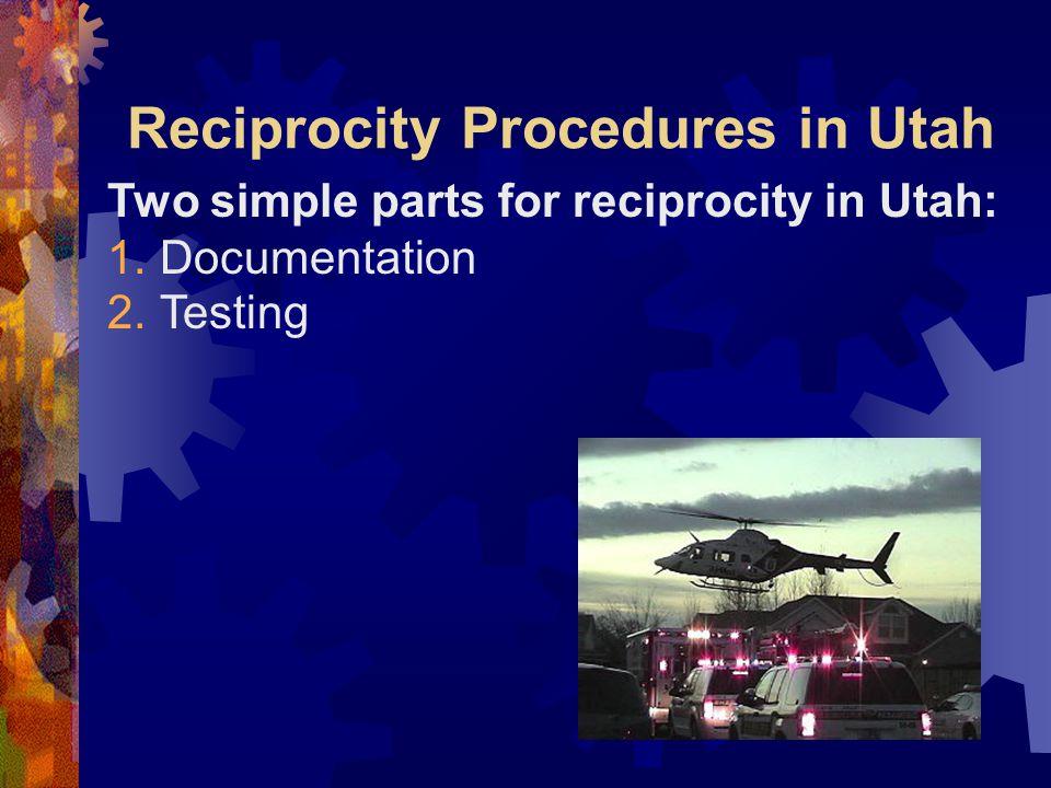 Documentation  Application  Picture  Fingerprints (2 sets)  Current certification- State or National Registry  Declaration of Understanding  CPR certification or ACLS/PALS