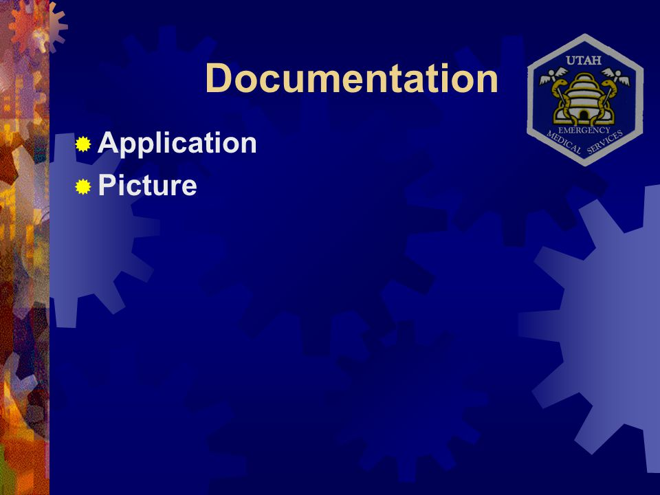 Documentation  Application  Picture  Fingerprints (2 sets)  Current certification- State or National Registry  Declaration of Understanding  CPR certification or ACLS/PALS  25 hours of CME in past year  TB test within the last year