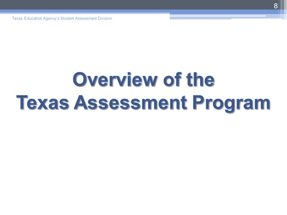 The First Consideration = the General Assessment  To determine whether the general assessment is the most appropriate,  ARD committees must review the student's present level of academic achievement and functional performance (PLAAFP).