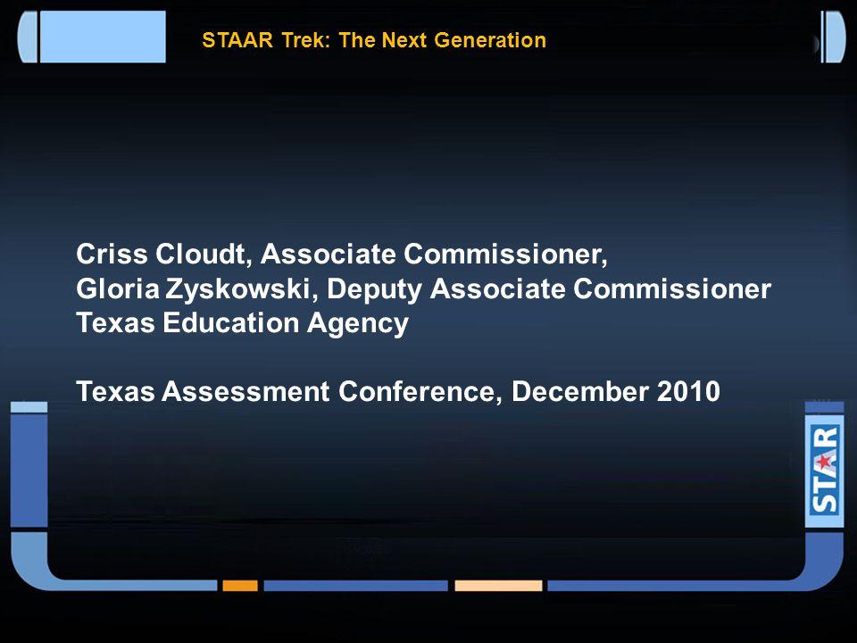 Staar Trek The Next Generation STAAR Trek: The Next Generation