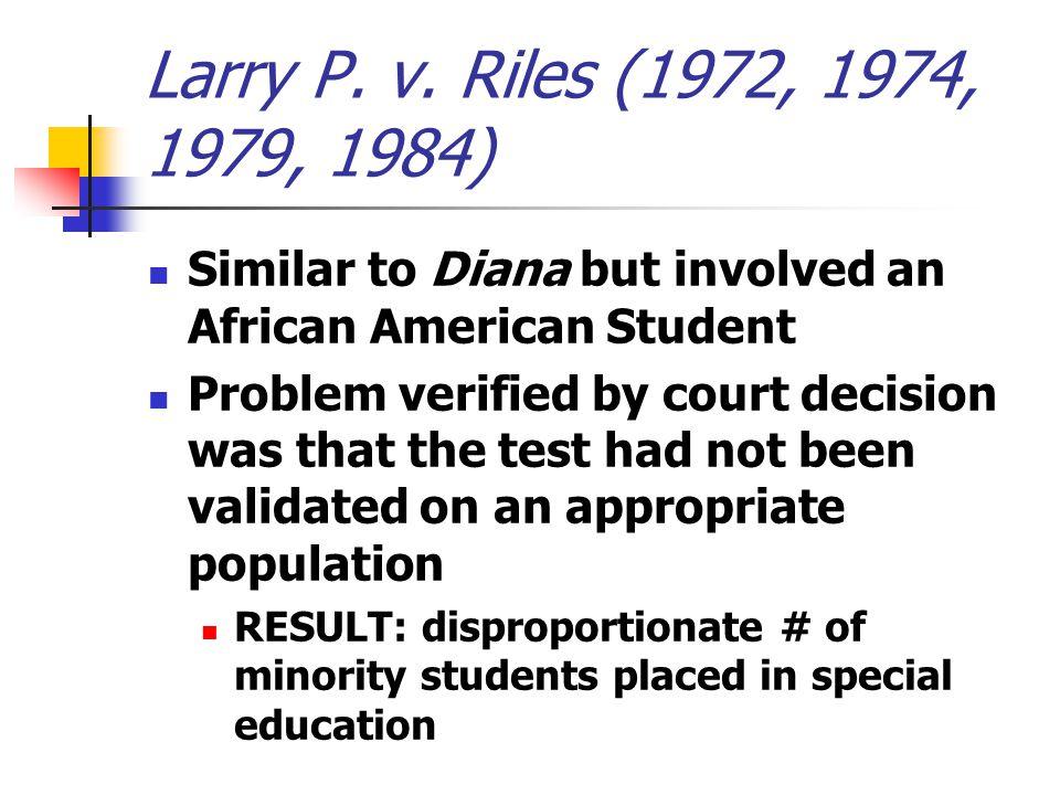 Larry P. v.