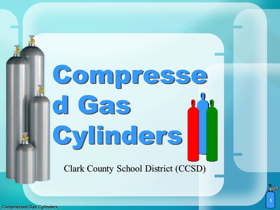Compressed Gas Cylinders 21 Segregate cylinders by hazardous gases.