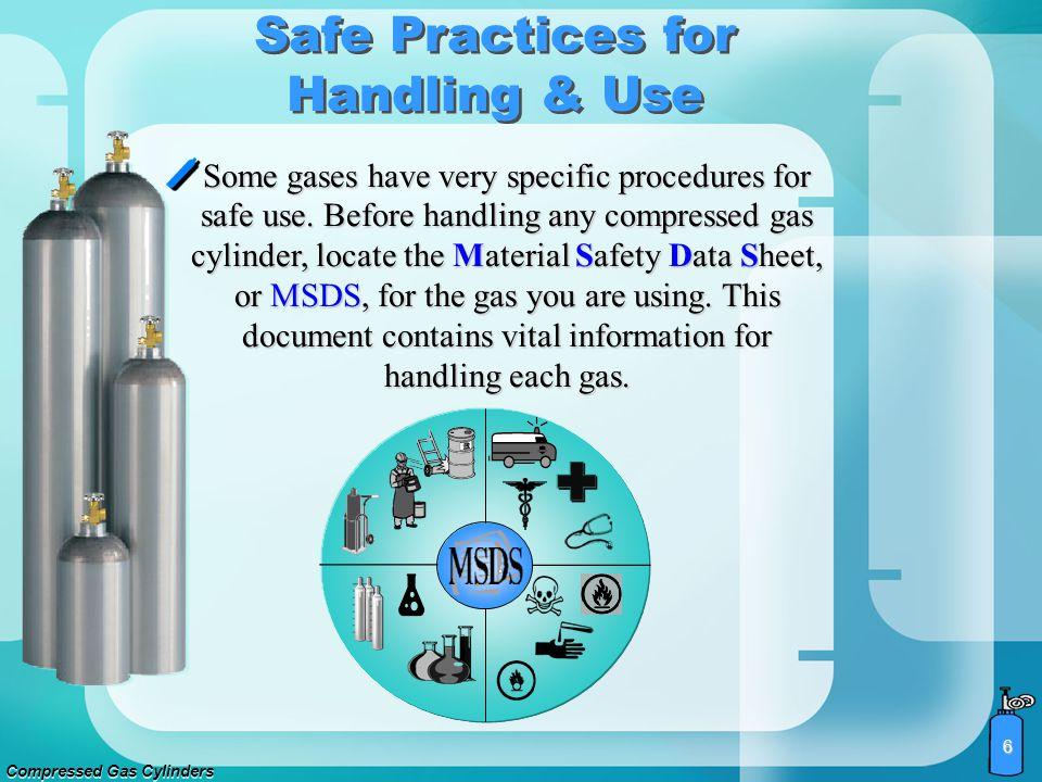 Compressed Gas Cylinders 5 Safe Practices for Handling & Use
