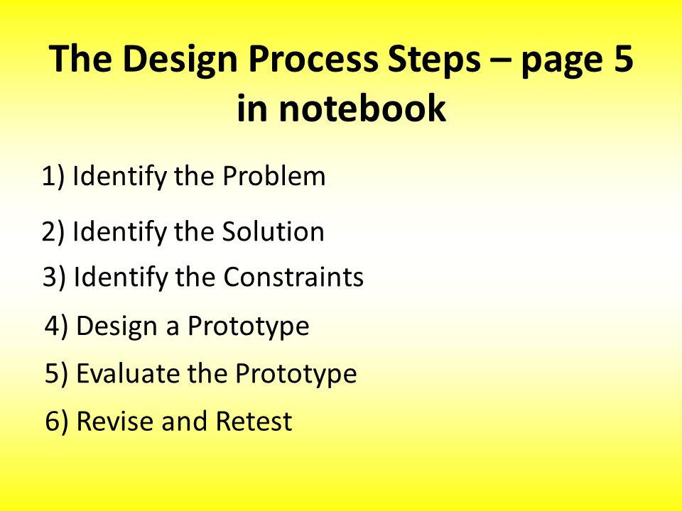 5.Evaluate the Prototype Evaluate the prototype.