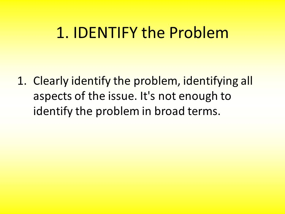 Steps of the Design Process 1) Identify the Problem 2) Identify the Solution 3) Identify the Constraints 4) Design a Prototype 5) Evaluate the Prototype 6) Revise and Retest