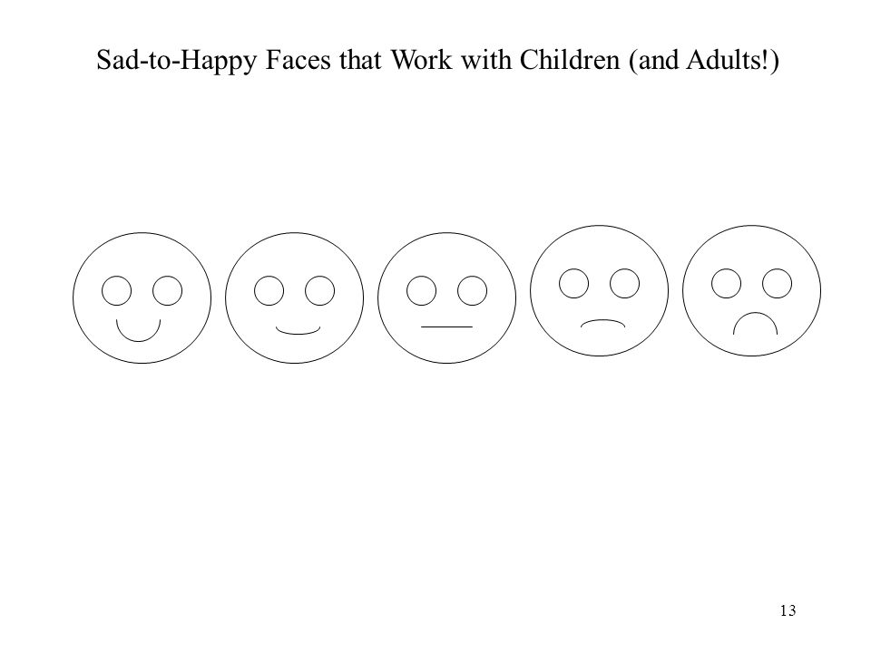13 Sad-to-Happy Faces that Work with Children (and Adults!)