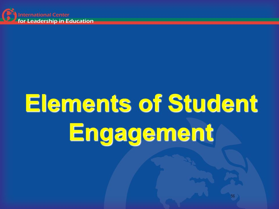 56 Elements of Student Engagement