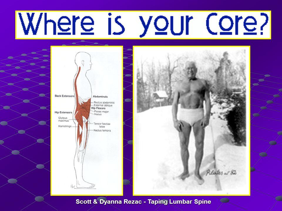 Scott & Dyanna Rezac - Taping Lumbar Spine