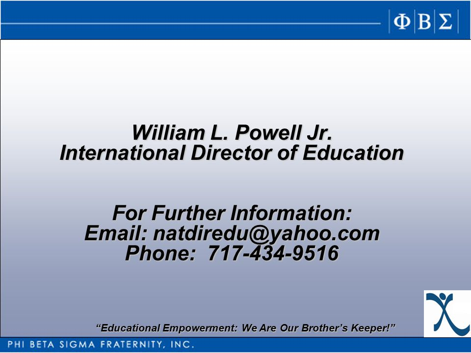 William L. Powell Jr.