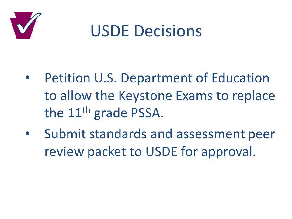 USDE Decisions Petition U.S.