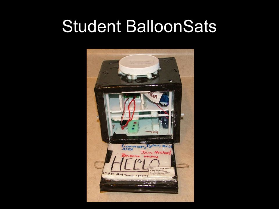 Student BalloonSats