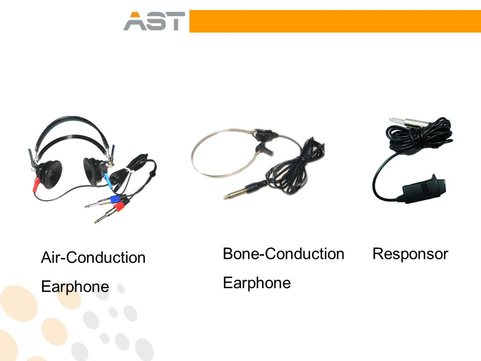 Air-Conduction Earphone Bone-Conduction Earphone Responsor