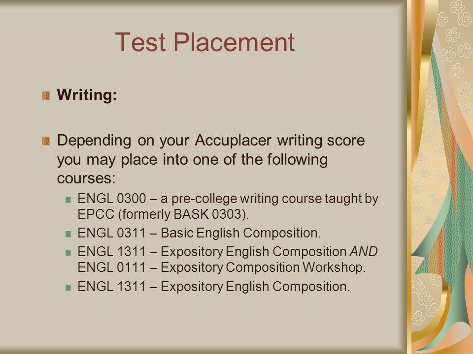 GOOD LUCK!! Visit the Tutoring & Learning Center 300 Library http://academics.utep.edu/tlc