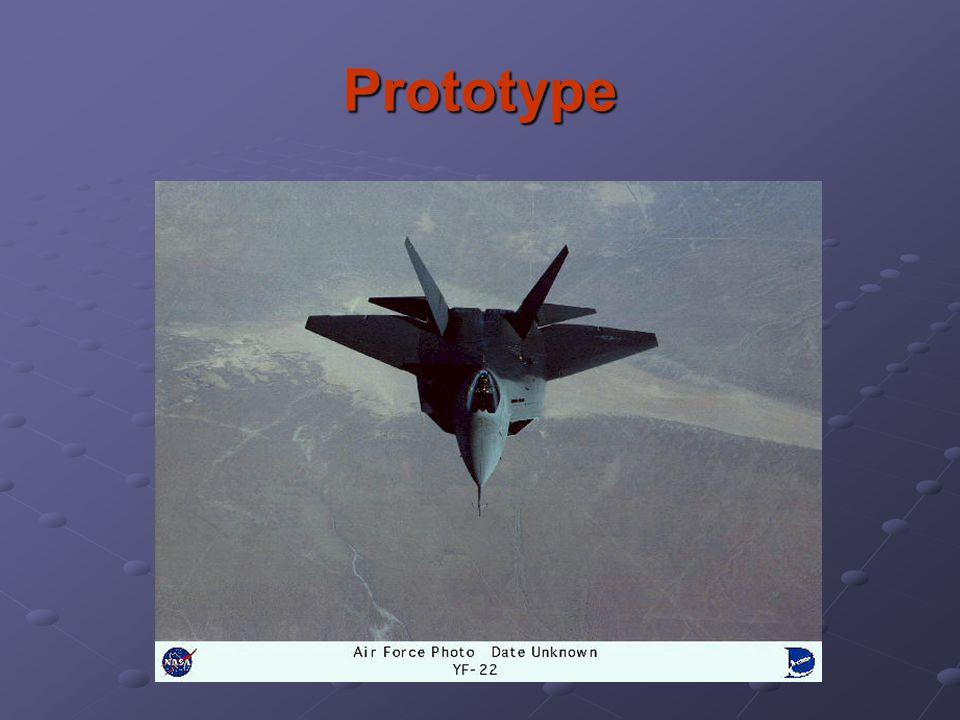 Prototype Prototype picture of 747