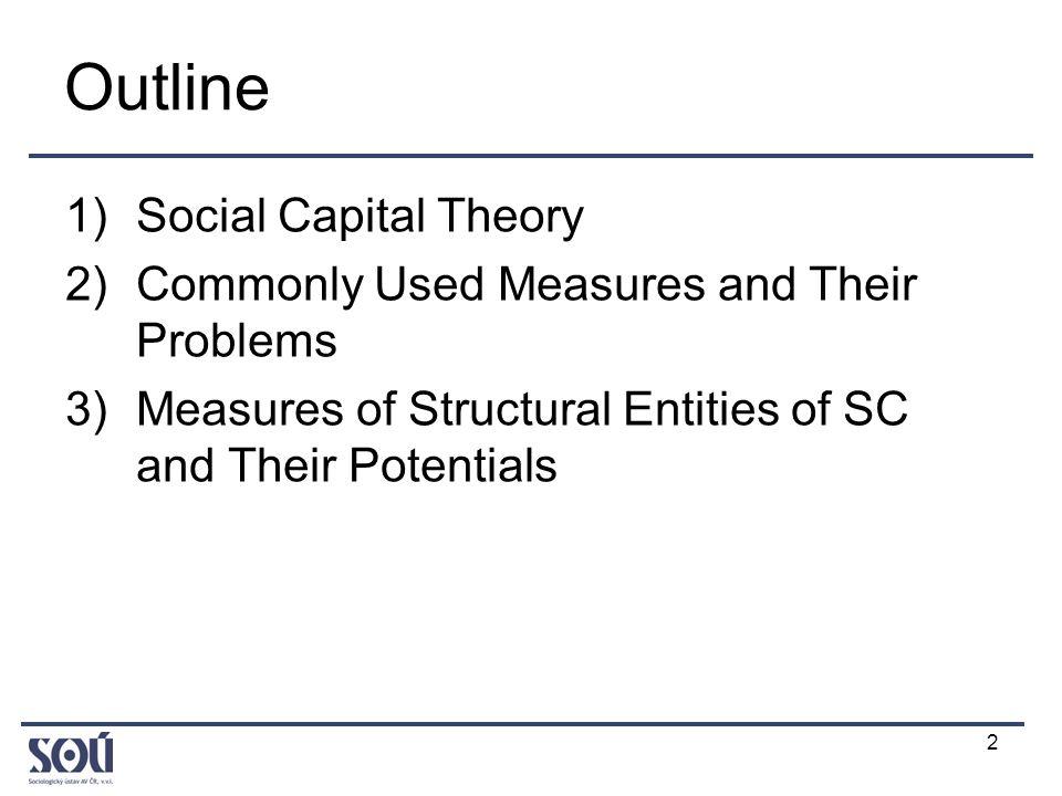 3 1) Social Capital Theory (1) Civic perspective (Putnam) vs.