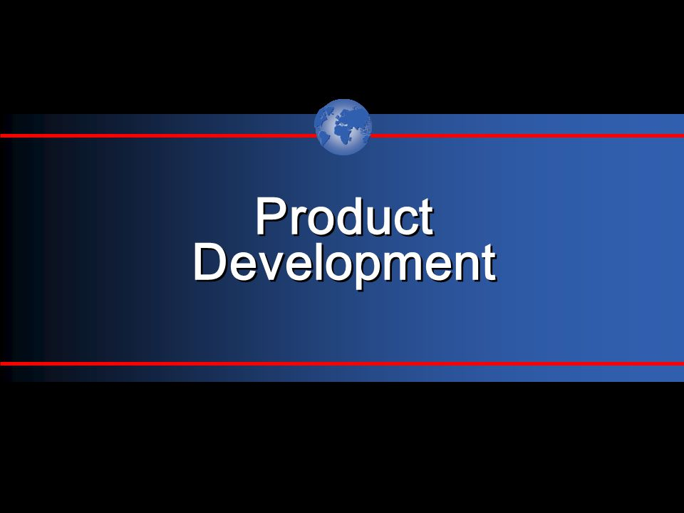 Product Development Product Development