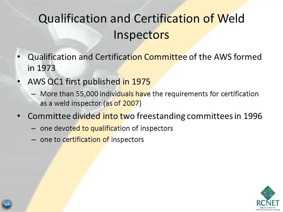 Qualification vs.