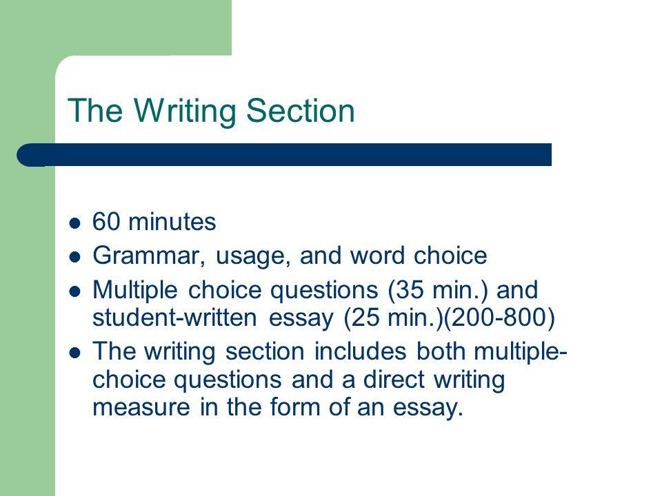 October 2009 sat essay topic