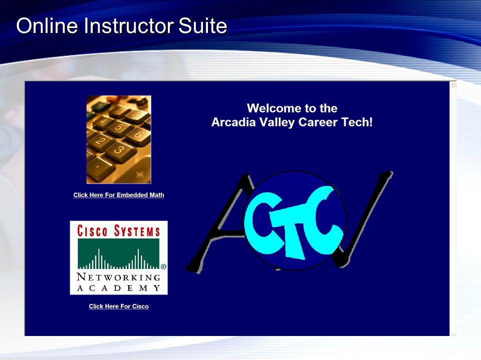 Online Instructor Suite