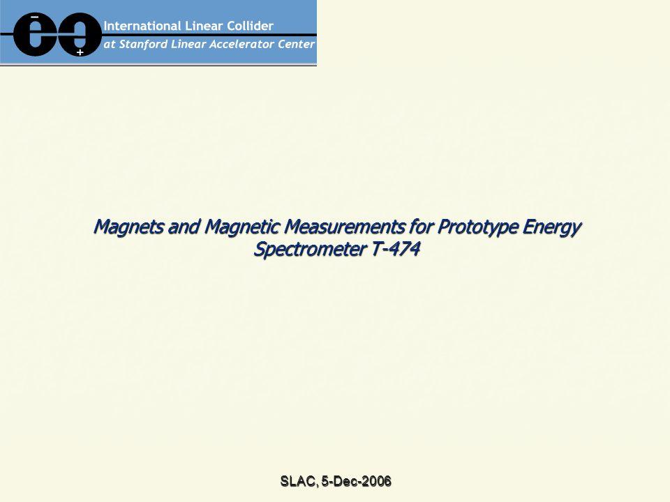 SLAC, 5-Dec-2006 BdL-NMR & BdL-Hall stability (2σ): ~ 100 ppm !