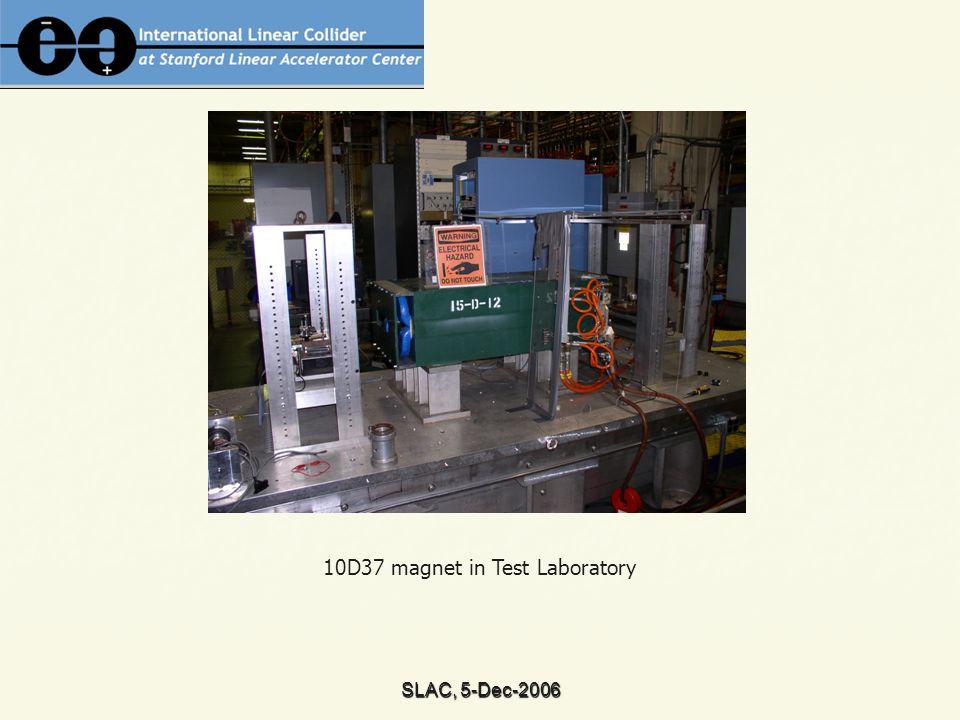 SLAC, 5-Dec-2006 10D37 magnetic field simulations (N.