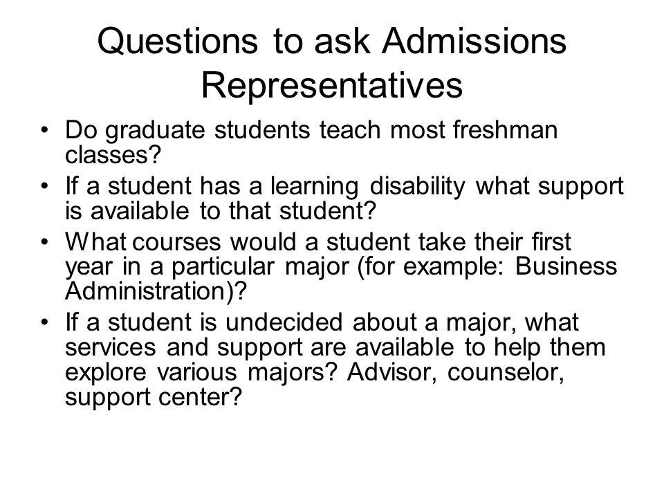 Do graduate students teach most freshman classes.
