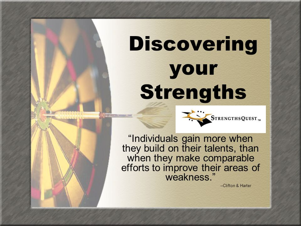 What Are Strengths? TalentKnowledge Skills = Strength