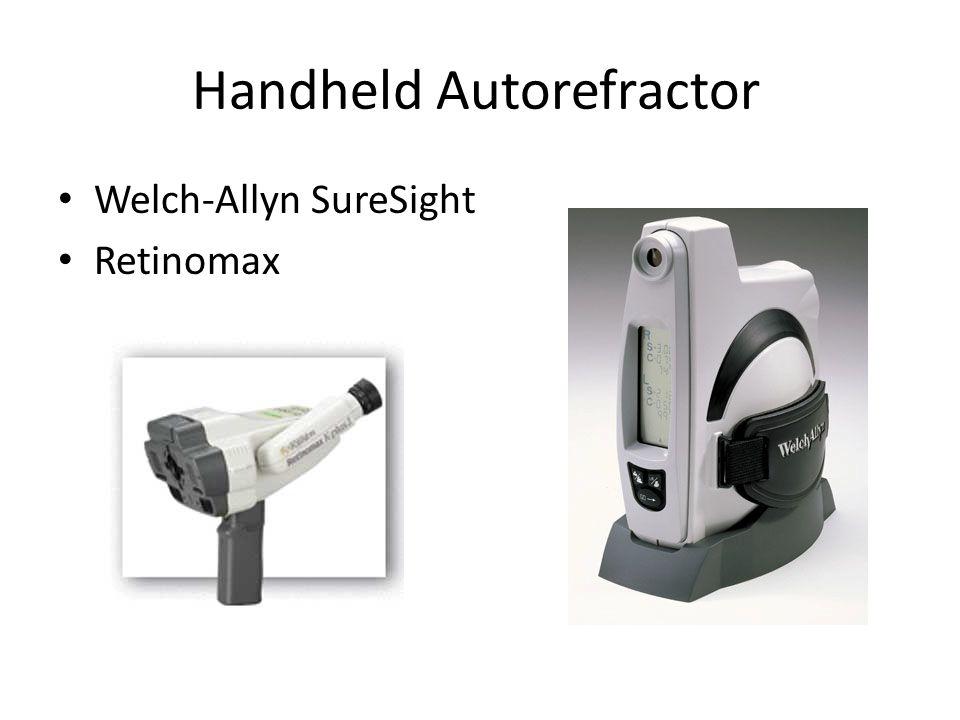 Handheld Autorefractor Welch-Allyn SureSight Retinomax