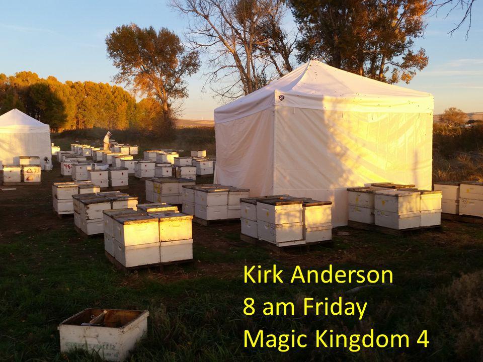 Kirk Anderson 8 am Friday Magic Kingdom 4