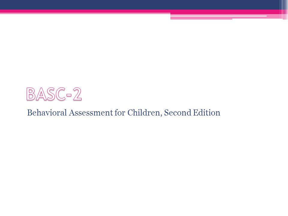 Adaptive Behavior Assessment System, Second Edition