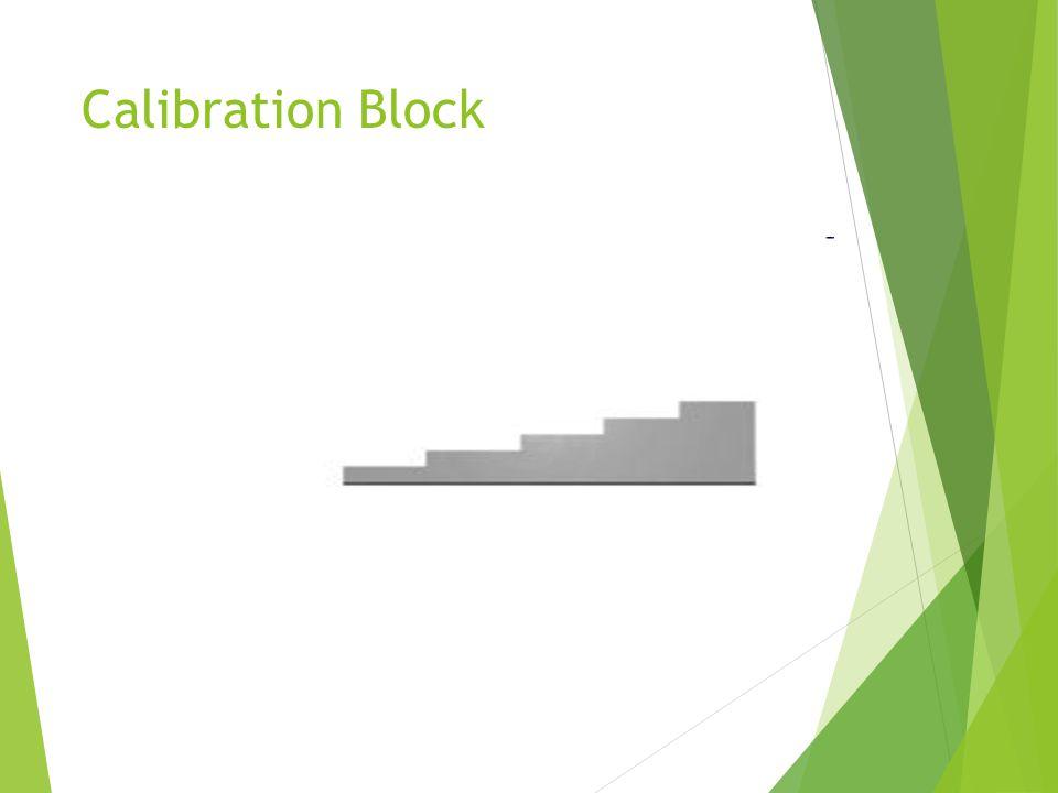 Calibration Block