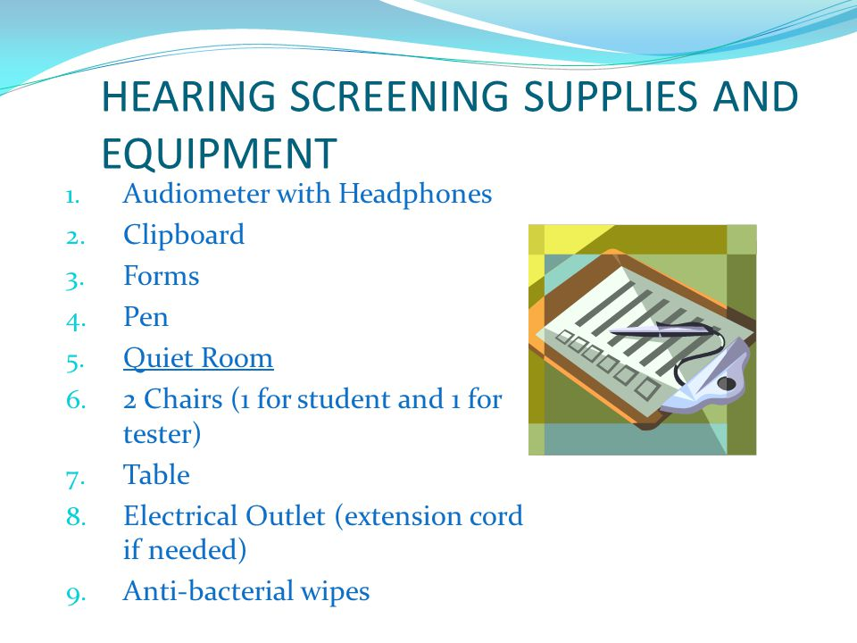 DO NOT TEST STUDENTS IMMEDIATELY AFTER THEY HAVE BEEN IN BAND CLASS Before class is preferred These students can experience a short term issue with their hearing that may not be permanent.