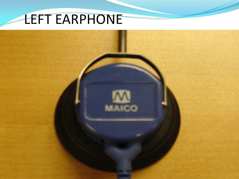RIGHT EARPHONE