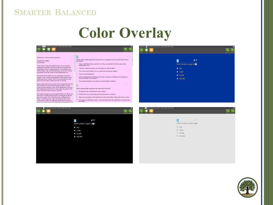 Color Overlay S MARTER B ALANCED