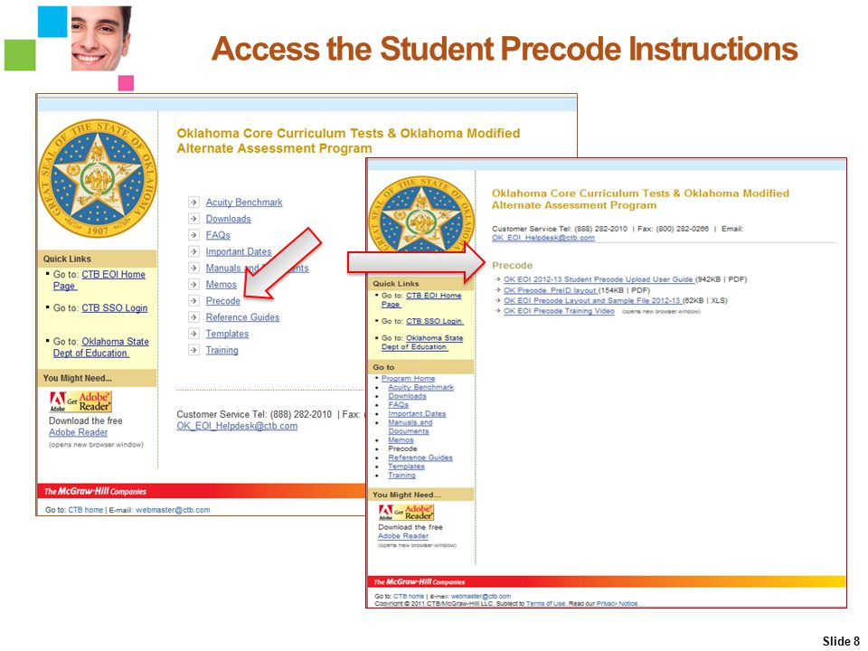 Correct Records Online From the Browse Students page, select the school to begin correcting records.