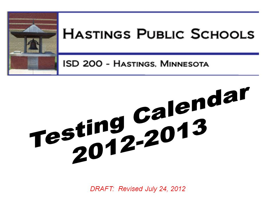 DRAFT: Revised July 24, 2012