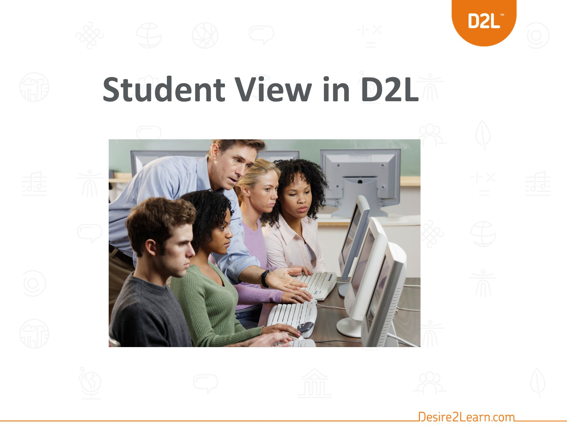 Student View in D2L